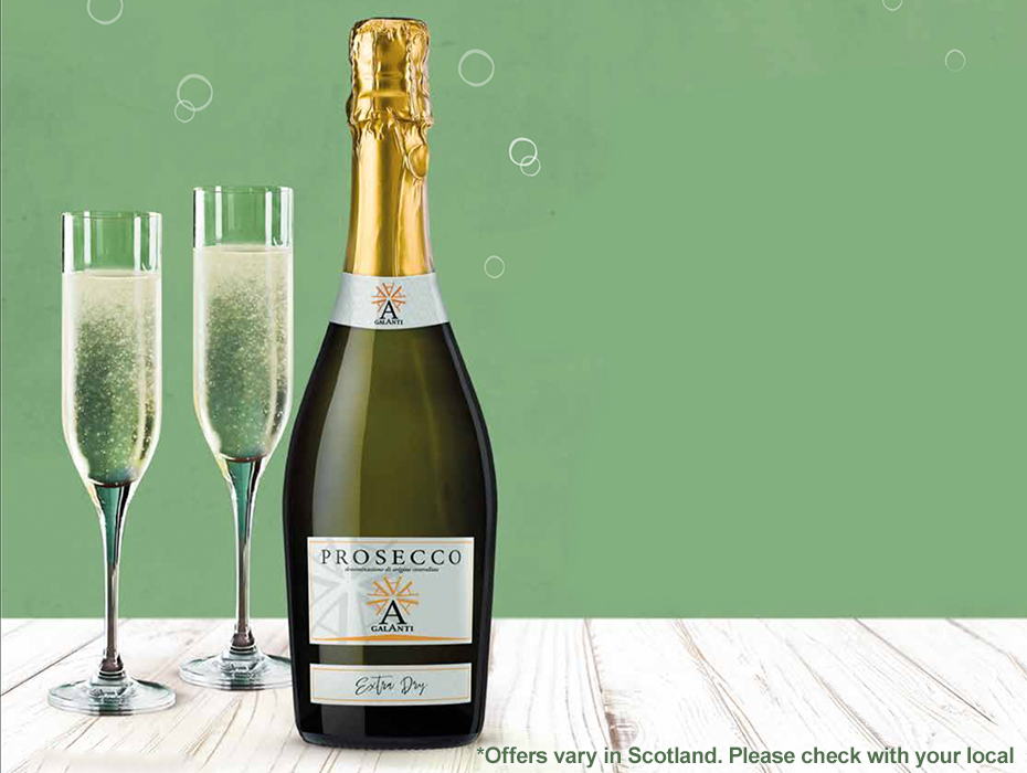 Prosecco offer